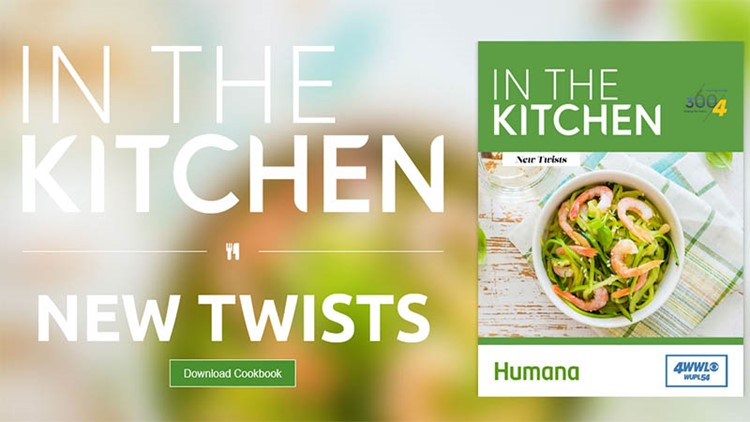 Download the free WWL-TV New Twists on Cooking cookbook