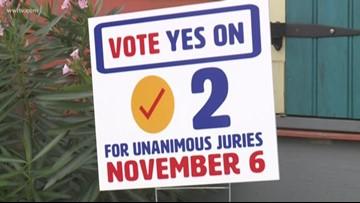 Diverse support for amendment requiring unanimous verdicts