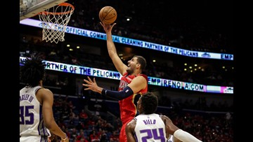 Scorching-hot Pelicans smash franchise record for points in 149-129 win over Kings