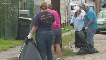 'NOLA Trash Mob' starts post-Mardi Gras catch basin cleaning