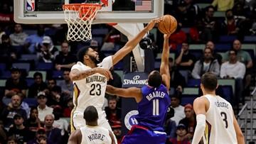 Davis scores 34, Pelicans top Clippers 116-109