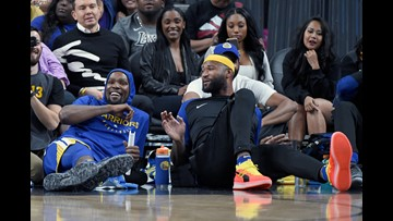 Boogie Cousins hasn't played yet, but leads Warriors in ejections