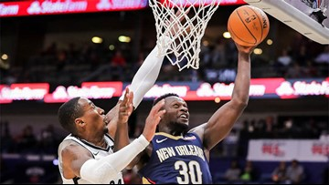 Last minute comeback keeps Pelicans perfect with win over Nets