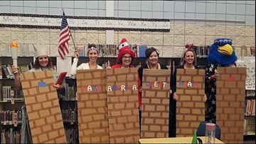 'We are better than this:' Middleton teachers dress up as border wall, Latinos for Halloween