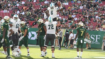 Bradwell runs for 134 yards, TD; Tulane routs USF 41-15