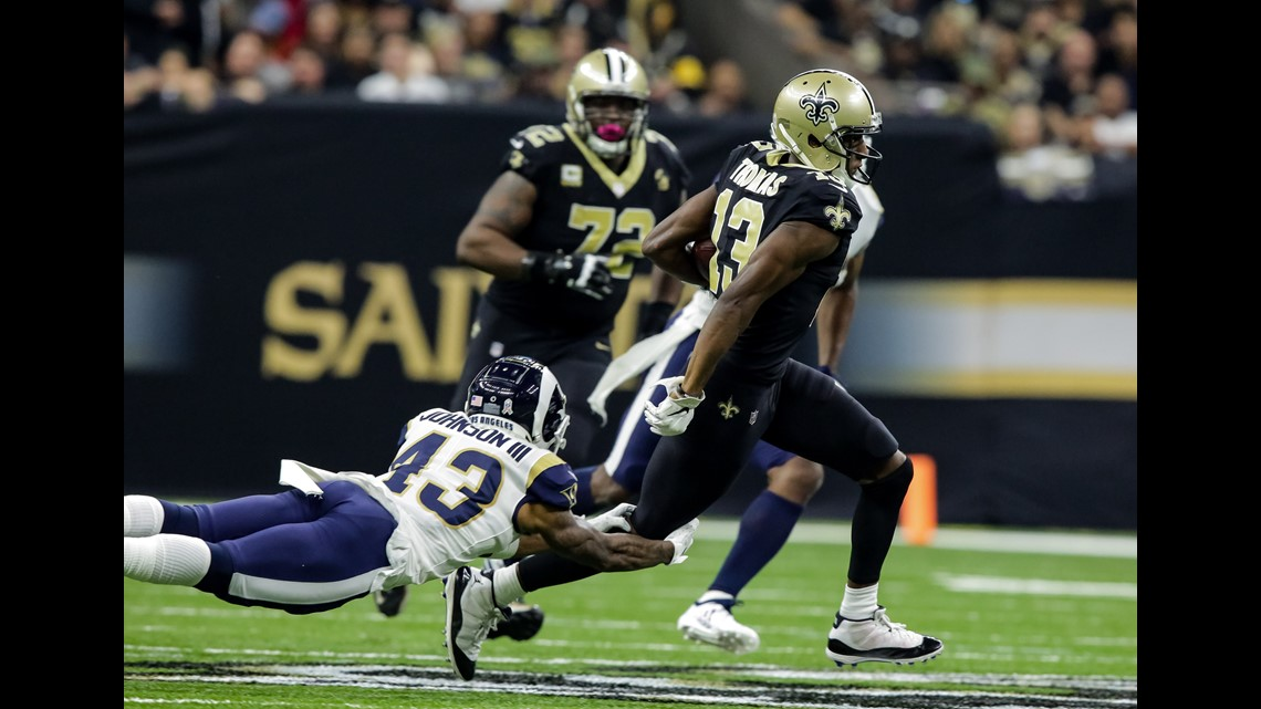 Saints Knock Off Undefeated Rams In   Thriller And Improve To