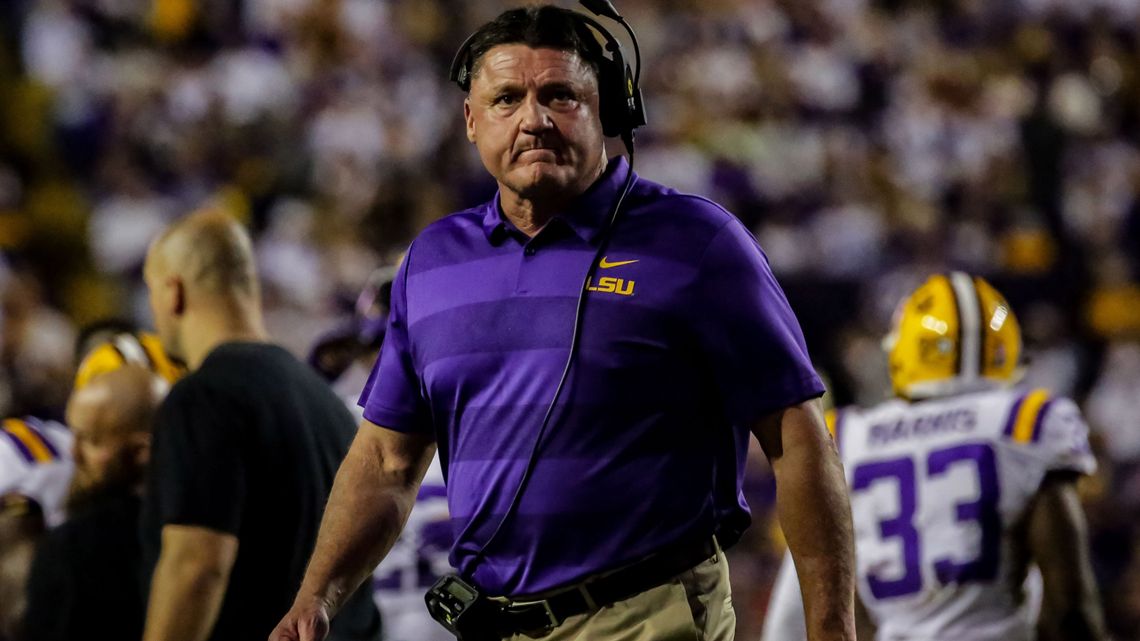 This again? LSU's offense has lost its identity and is sputtering at the bottom of the SEC