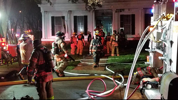 No injuries in two-alarm fire in River Ridge