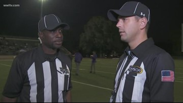 Referees in short supply for Louisiana high schools