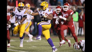 LSU bounces back from Alabama loss with win at Arkansas