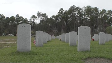 Veterans with no known families honored at Southeast Louisiana Veterans Cemetery