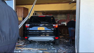 Woman thought SUV was in reverse before plowing into Harahan coffee shop