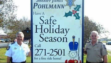 St. Bernard launches 'Free Ride Home' program to prevent drunk driving for the holidays