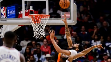 Pelicans top Knicks behind AD's season-high 43 points