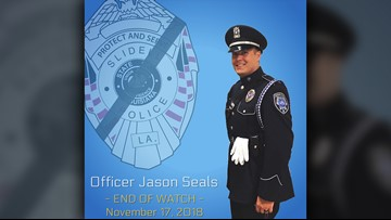 Funeral Services set for Officer Jason Seals, Slidell PD
