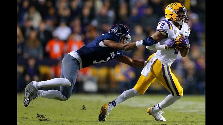 LSU rolls Rice, edges closer to 10-win season