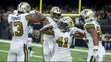 Saints stay at the top of NFL power rankings