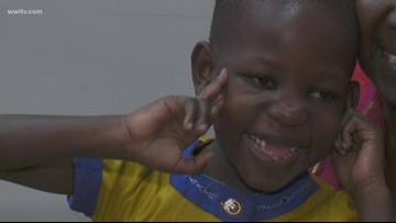 5-year-old girl traveled 8,000 miles to New Orleans to fix a hole in her heart
