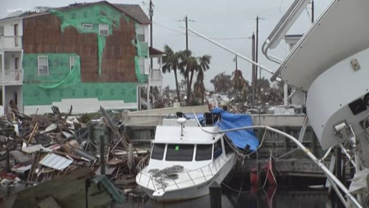 'It looks like God took his hand and went whoosh' - 1 month later Mexico Beach still crippled