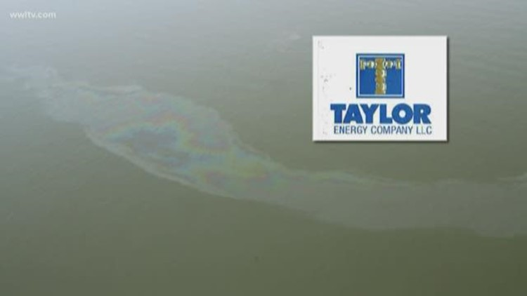 Coast Guard takes over response to 14-year-old Taylor Energy oil leak