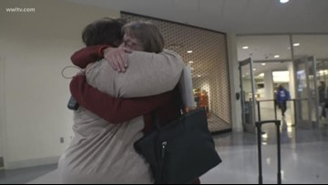 65-year-old woman meets sister she never knew she had