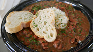 Here's where you can get FREE red beans & rice Wednesday