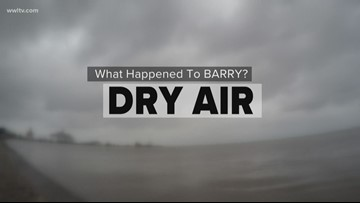 Why Barry didn't bring flooding rain and why projections were so high