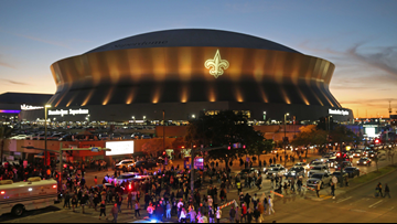 Traffic, street closure information for Sunday's game