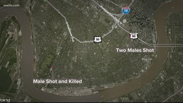 1 dead, 2 hurt in pair of overnight shootings in New Orleans