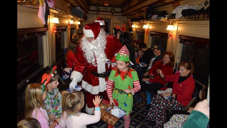 Santa's North Pole Steam Train