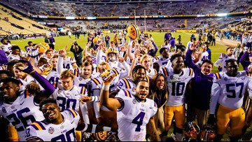 LSU football ends 2018 season in AP poll top 10