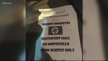 Southport Hall owners denounce racist flyers; offering $3,500 reward to find who posted them