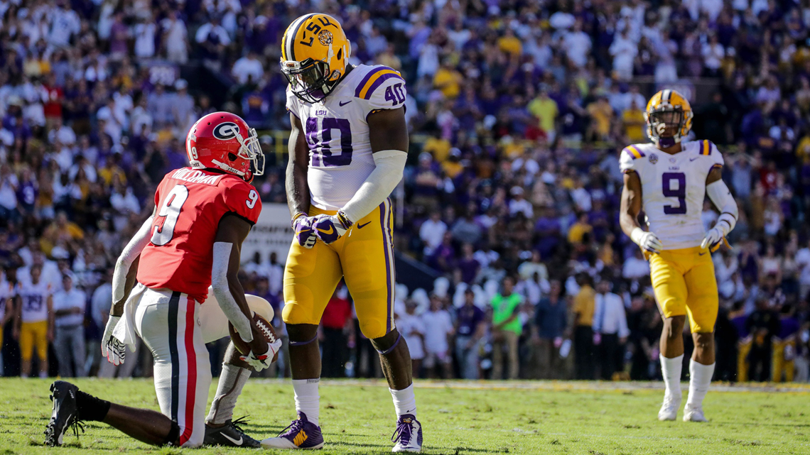 Devin White becomes first LSU player to win the prestigious Butkus Award