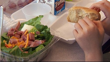 School meal locations, parish by parish, during coronavirus break