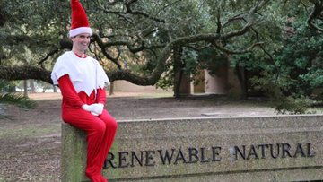 You better watch out: LSU college introduces its own Elf on the Shelf