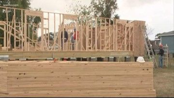 Local band helps build home in New Orleans East