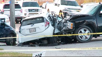 Sheriff: Passenger in stolen vehicle killed as it sped from police, crashed in Marrero