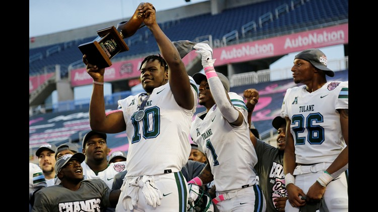 Tulane Green Wave beats out ULL for first bowl win in 16 years
