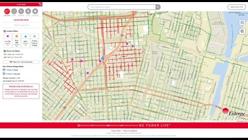 Entergy: 2700 people without power in St. Roch area