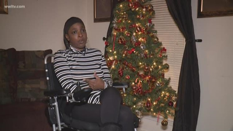 Teenage daughter raises money to buy a new wheelchair for paralyzed mother