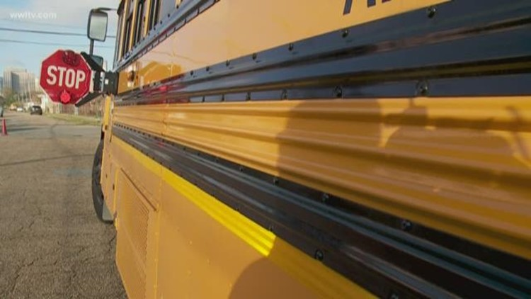 N.O. School bus inspections: Missing license plates, bad brake tags, unbolted seats
