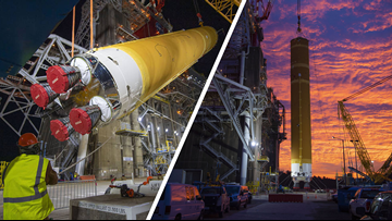 NASA's 'most powerful rocket' ready for testing at Stennis Space Center