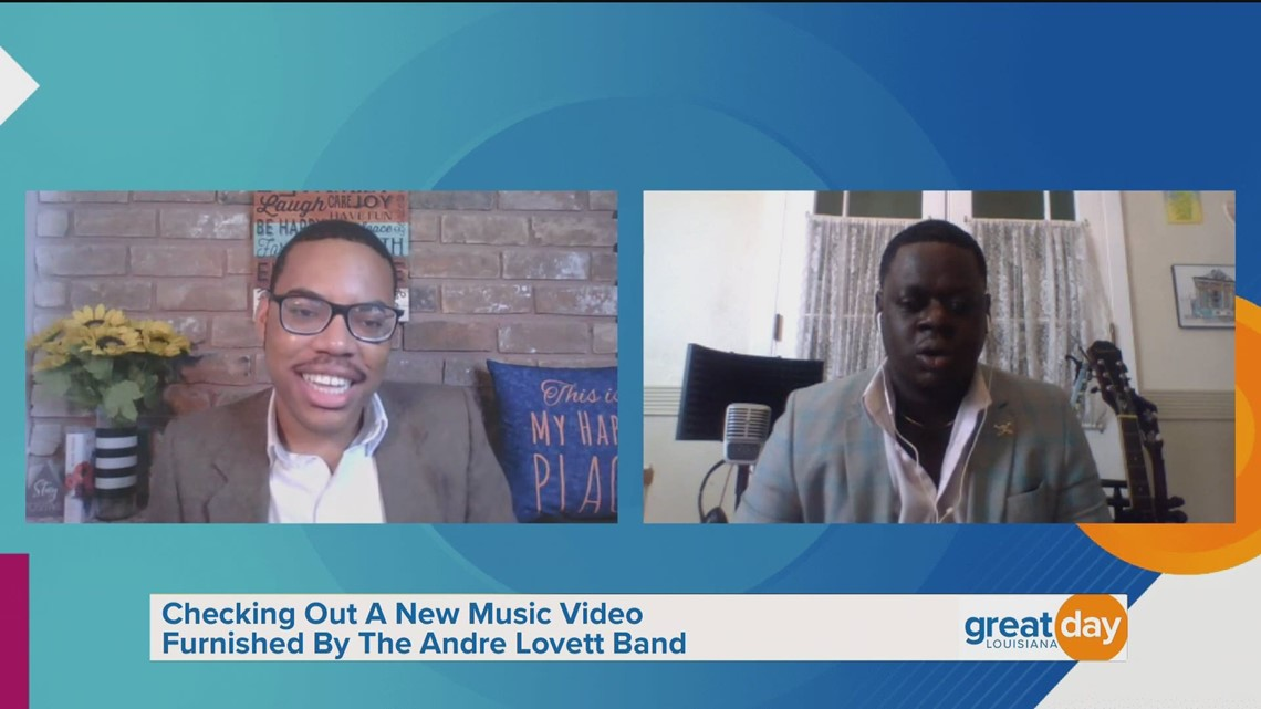 Andre Lovett Performs 'Weight of it All'
