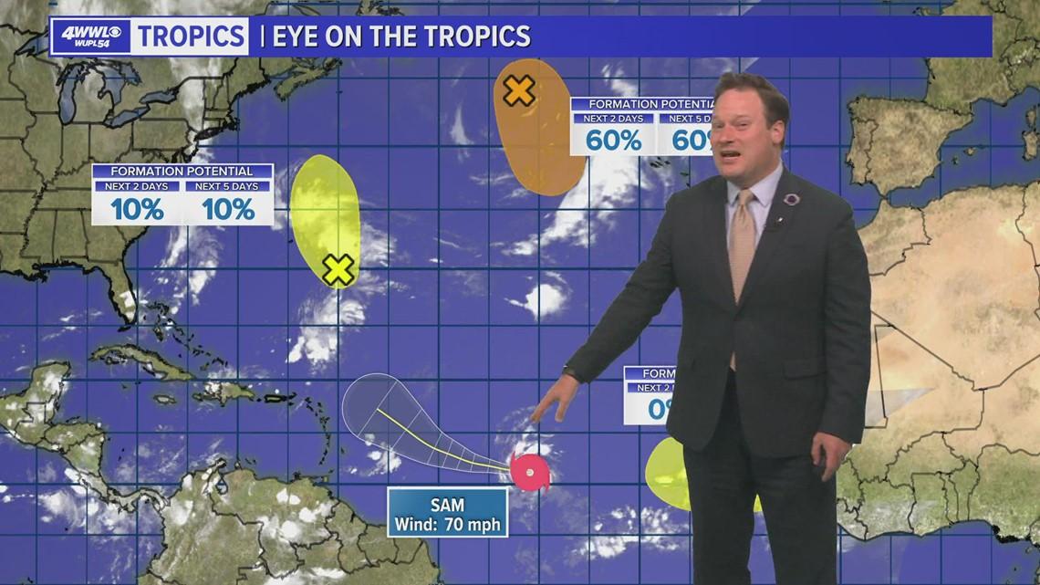 Thursday 10 PM Tropical Update: 3 major storms in 2021 hurricane season