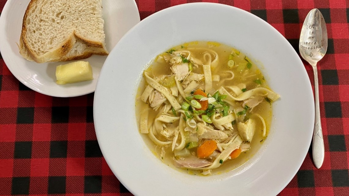 Recipe: Chicken Soup to warm your body and soul