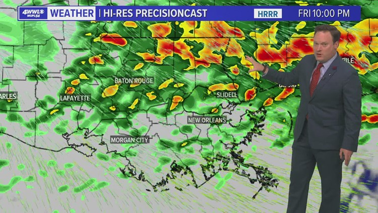Weather: More Heavy Rain Friday, Flash Flooding Possible
