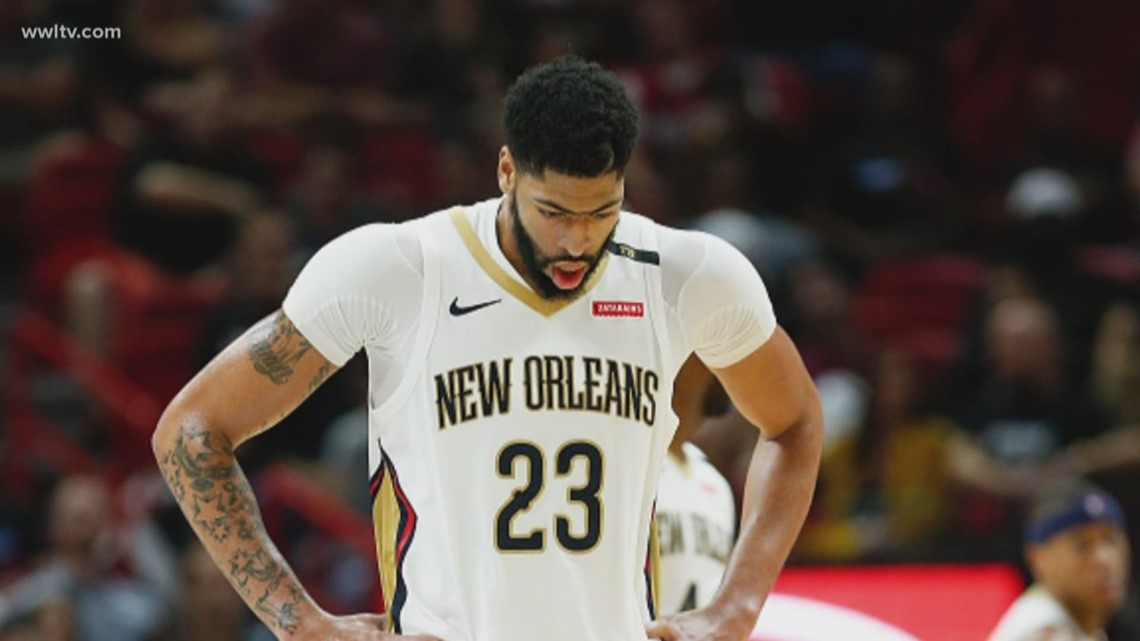Anthony Davis to remain in Pelicans' lineup, for now