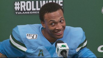 Tulane players, coach react to stunning win over Houston