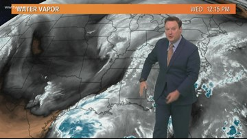 Weather Expert Forecast: Less humid air hangs around