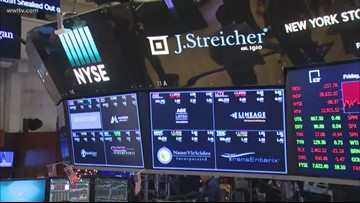 Stock market reacts to U.S. missile attack against Iran